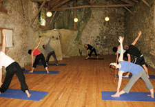 Yoga retreat studio